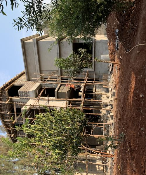 Ongoing construction of contemporary mansionette in kiambu road