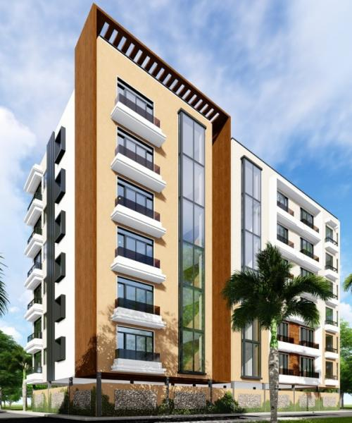 Proposed Two bedroom residential apartment in Thika